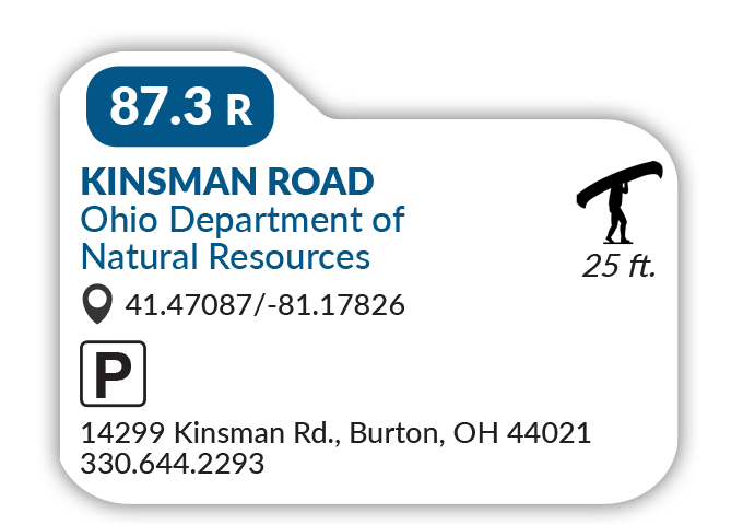 Kinsman road ohio department of natural resources
